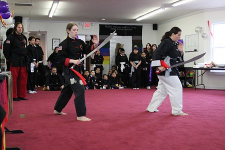 Rising Dragon Sword Demonstration – (Photo by LouRawls Burnett)