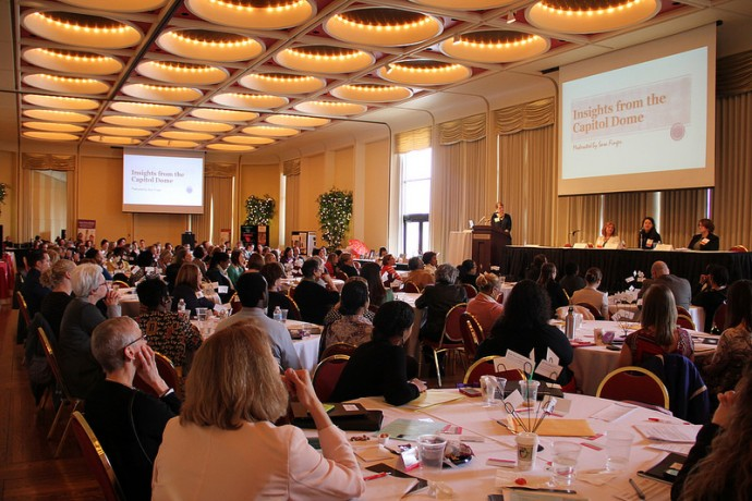 Hundreds of women's health advocates gathered recently at the Marcus Center for the Performing Arts to discuss federal and state policies affecting a program that provides free breast and cervical cancer screenings to low-income women.