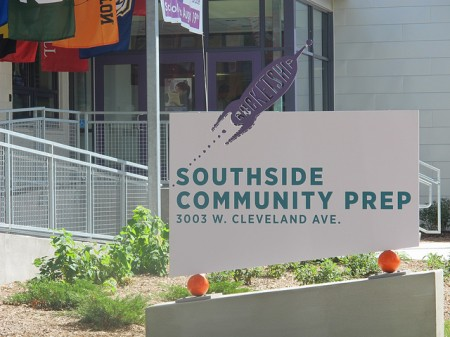 Milwaukee's first Rocketship school opened on the South Side last fall. (Photo by Shakara Robinson)