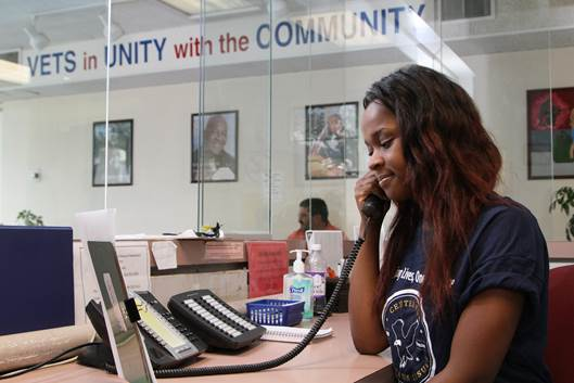 Adrianna Carter worked at a Veterans Affairs office last summer through the Earn & Learn program. (Photo courtesy of Milwaukee Area Workforce Investment Board)