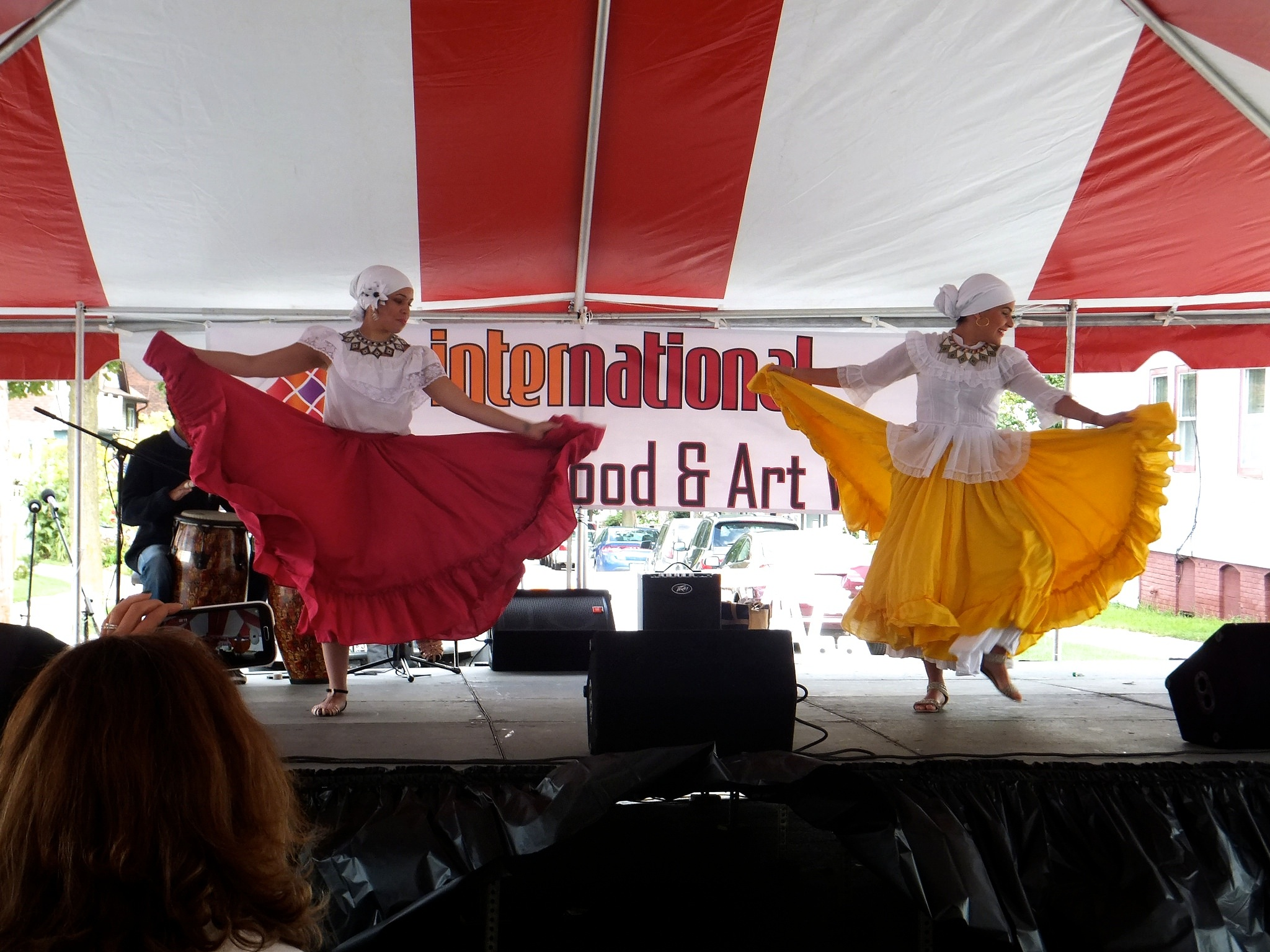 Dancers from the Panadanza Dance Company perform authentic dances from Central and South America. (Photo by Teran Powell)
