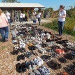 Hearts and Soles, a tour of five cities sponsored by Wisconsin's Anti-Violence Effort (WAVE) displayed 467 pairs of shoes, representing the 467 victims of gun violence in the state last year.