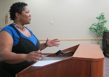 Shanyeill McCloud, president of Clean Slate Milwaukee, helps clients get their criminal records expunged.