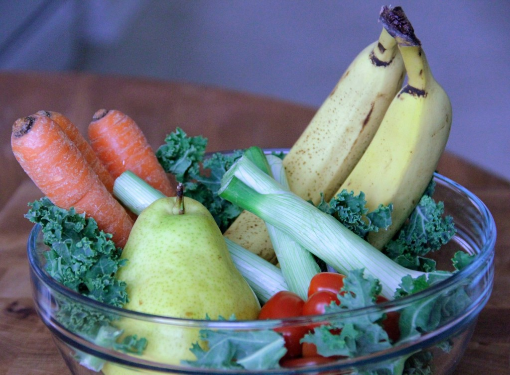 The UW-Extension suggests that making healthy choices, such as eating more fruits and vegetables in place of processed snacks, can help prevent illnesses and reduce health care costs. (Photo by Molly Rippinger)